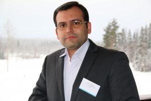 Photo of doctoral student Amir Esrafilian