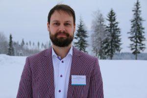 Photo of doctoral student Jaakko Syrjälä