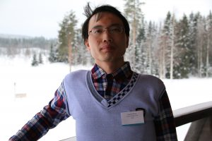 Photo of doctoral student Lingwei Huang