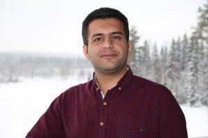 Photo of doctoral student Vahid Farrahi