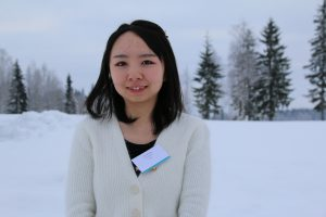 Photo of doctoral student Yike Huang