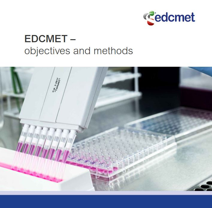 EDCMET flyer cover page