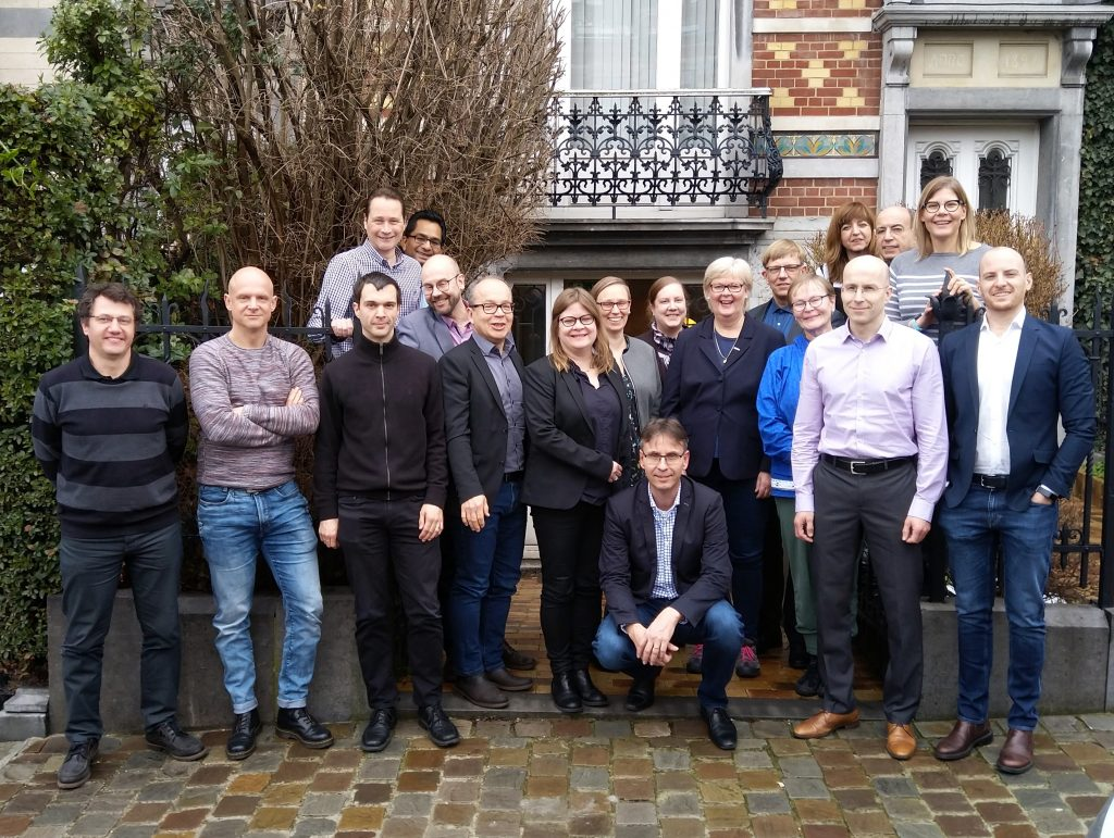 EDCMET group picture in Brussels
