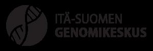 Ita-Suomen_Genomikeskus_Logo_FIN_Musta_Vaaka