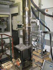Small scale heater test cell